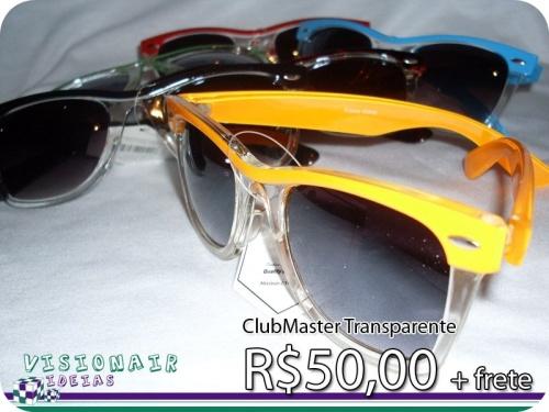 ClubMasters - R$50,00 + frete - Se estiver interessado mande seu CEP para calcularmos o valor do frete!